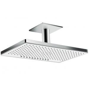 Верхний душ встраиваемый hansgrohe Rainmaker Select 460 2jet EcoSmart 24014400, белый/хром