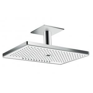 Верхний душ встраиваемый hansgrohe Rainmaker Select 460 3jet EcoSmart 24016400, белый/хром
