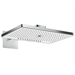 Верхний душ встраиваемый hansgrohe Rainmaker Select 460 3jet EcoSmart 24017400, белый/хром