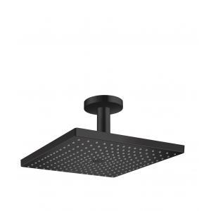 Верхний душ hansgrohe Raindance E 300 1jet с потолочным подсоединением 26250670, матовый черный