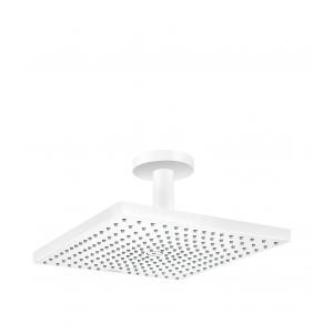 Верхний душ hansgrohe Raindance E 300 1jet с потолочным подсоединением 26250700, матовый белый
