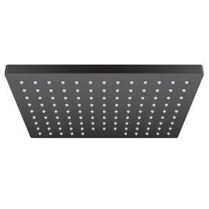 Верхний душ 230 1jet EcoSmart Hansgrohe Vernis Shape 26283670, матовый черный