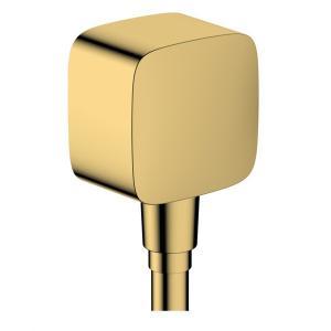 Шланговое подсоединение Hansgrohe Fixfit 26457990, полированное золото