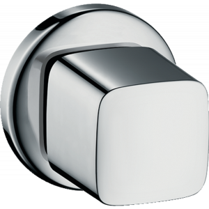 Запорный вентиль hansgrohe наружная часть 31677000, хром