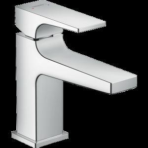 Смеситель для раковины 100, однорычажный, с рычаговой рукояткой, со сливным клапаном Push-Open 32500000, хром