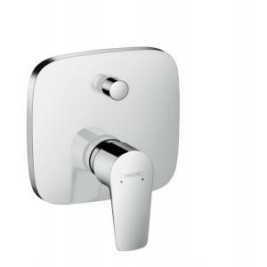 Смеситель hansgrohe Talis E для ванны, однорычажный, СМ, со встроенной защитной комбинацией, 71474000, хром
