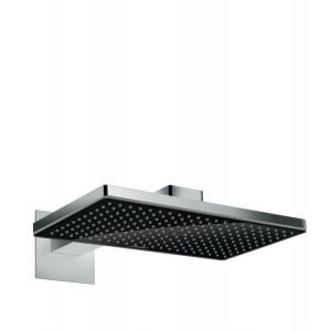 Rainmaker Select Верхний душ 460 1jet с держателем, черная панель 24003600