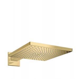 Верхний душ hansgrohe Raindance E 300 1jet с держателем 26238990, полированное золото