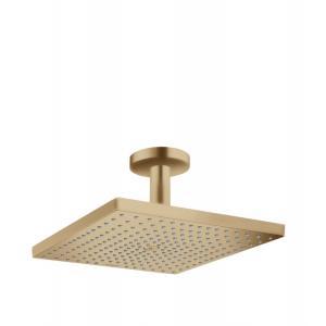 Верхний душ hansgrohe Raindance E 300 1jet с потолочным подсоединением, 26250140, шлифованная бронза
