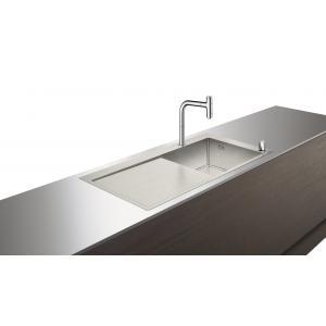 Кухонная комбинация 450 с крылом C71-F450-07 Hansgrohe 43205000, хром