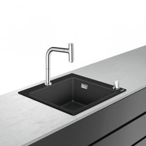 Кухонная комбинация hansgrohe C51-F450-06 43217000, хром