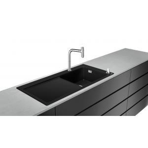 Кухонная комбинация 450 с крылом C51-F450-08 Hansgrohe 43219000, хром