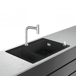 Кухонная комбинация hansgrohe C51-F635-09 43220000, хром