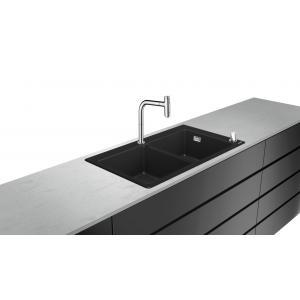 Кухонная комбинация 370/370 C51-F770-10 Hansgrohe 43221000, хром