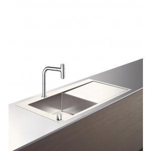 Кухонная комбинация 450 с крылом C71-F450-12 Hansgrohe 43230000, хром