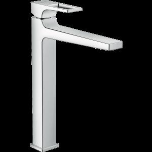 Смеситель hansgrohe Metropol для раковины со сливным клапаном Push-Open 74512000, хром