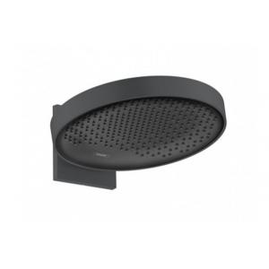 Верхний душ hansgrohe Rainfinity 360 3jet с настенным разъемом 26234670, черный матовый