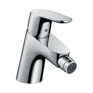 Смеситель для биде, однорычажный, со сливным клапаном Push-Open Hansgrohe 31922000, хром