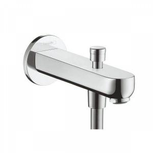 Излив на ванну 15,2 см с переключателем на душ Hansgrohe 31417000, хром
