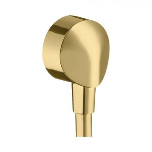 Шланговое подсоединение без клапана обратного тока E Hansgrohe FixFit 27454990, золотой