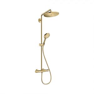 Душевая система Hansgrohe Croma Select S 280 1 режим струи 26890990, золото