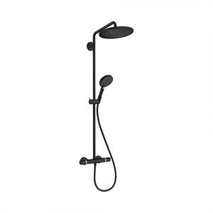 Душевая система Hansgrohe Croma Select S 280 1 режим струи 26890670, матовый черный