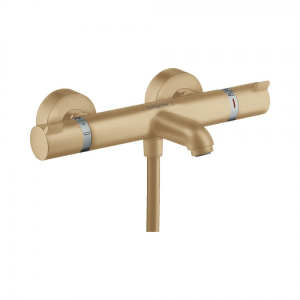 Термостат для ванны Hansgrohe Ecostat Comfort, ВМ, ½ 13114140, шлифованная бронза