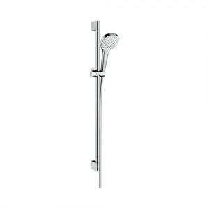 Душевой набор Croma Select E Vario EcoSmart 9л/мин 0,90м 26593400, белый/хром