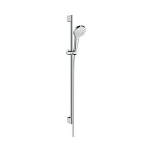 Душевой набор hansgrohe Croma Select S 1jet EcoSmart 9 л/мин 90 см 26575400, белый/хром