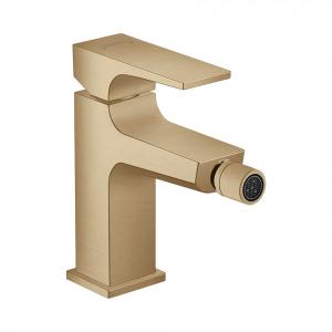 Смеситель hansgrohe Metropol для биде с донным клапаном Push-Open, 32520140, шлифованная бронза