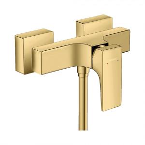 Смеситель hansgrohe Metropol для душа, однорычажный, 32560990, полированное золото