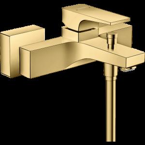 Смеситель hansgrohe Metropol для ванны, однорычажный, внешнего монтажа, с рычажной рукояткой, полир. золото 32540990