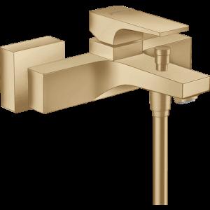 Смеситель hansgrohe Metropol для ванны, однорычажный, внешнего монтажа, с рычажной рукояткой 32540140, шлифованная бронза
