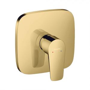 Смеситель hansgrohe Talis E для душа однорычажный, СМ, 71765990, полированное золото