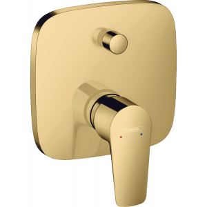 Смеситель hansgrohe Talis E для ванны, однорычажный, СМ 71745990, полированное золото