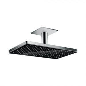 Верхний душ Rainmaker Select 460 1jet с потолочным подсоединением 24002600, черный/хром