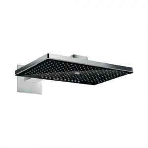 Верхний душ hansgrohe Rainmaker Select 460 3jet с держателем, 24007600, черный/хром