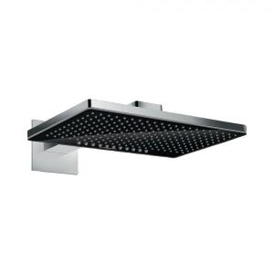 Верхний душ hansgrohe Rainmaker Select 460 2jet с держателем, 24005600, черный/хром