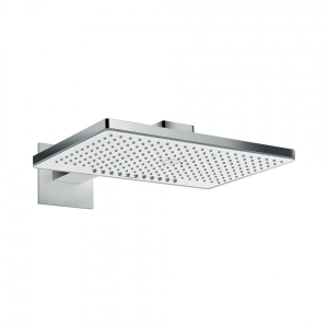 Верхний душ hansgrohe Rainmaker Select 460 2jet с держателем, 24005400, белый/хром