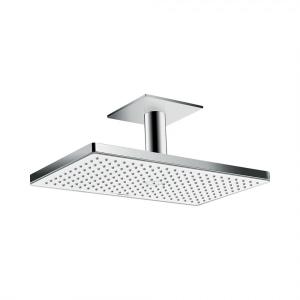 Верхний душ hansgrohe Rainmaker Select 460 1jet с потолочным подсоединением, 24002400, белый/хром