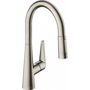 Кухонный смеситель 200 2j, Eco Talis M51 Hansgrohe 72817800, нержавеющая сталь