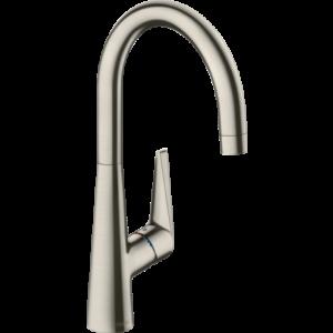 Кухонный смеситель 260 1j, Eco Talis M51 Hansgrohe 72816800, нержавеющая сталь