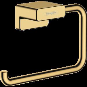Держатель туалетной бумаги AddStoris Hansgrohe 41771990, полир. золото