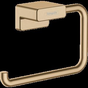 Держатель туалетной бумаги AddStoris Hansgrohe 41771140, шлиф. бронза