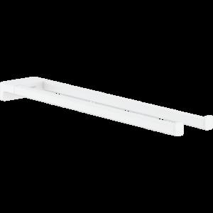 Двухрожковый держатель полотенец AddStoris Hansgrohe 41770700, матовый белый