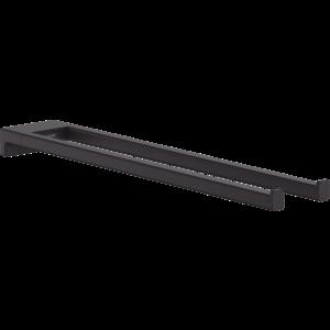 Двухрожковый держатель полотенец AddStoris Hansgrohe 41770670, матовый черный
