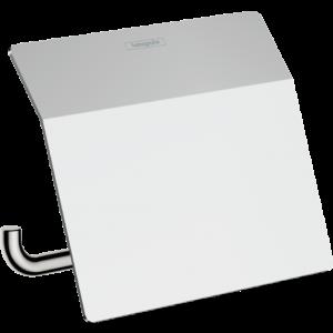 Держатель туалетной бумаги с крышкой AddStoris Hansgrohe 41753000, хром