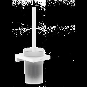 Набор для WC настенный AddStoris Hansgrohe 41752700, матовый белый