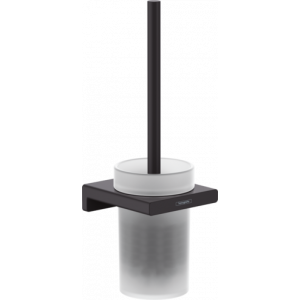 Набор для WC настенный AddStoris Hansgrohe 41752670, матовый черный