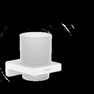 Стакан для зубных щеток AddStoris Hansgrohe 41749700, матовый белый